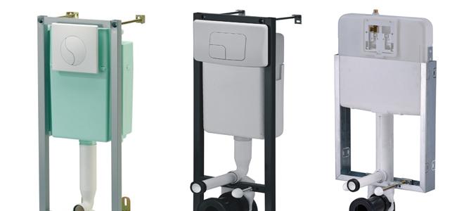 3 Produkte aus unserem Sortiment von WC & Vorwandelementen